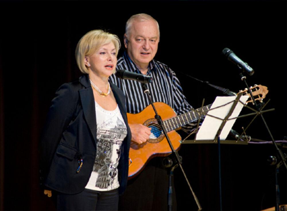 Концерт Татьяны и Сергея Никитиных «Дождя золотые полоски»
