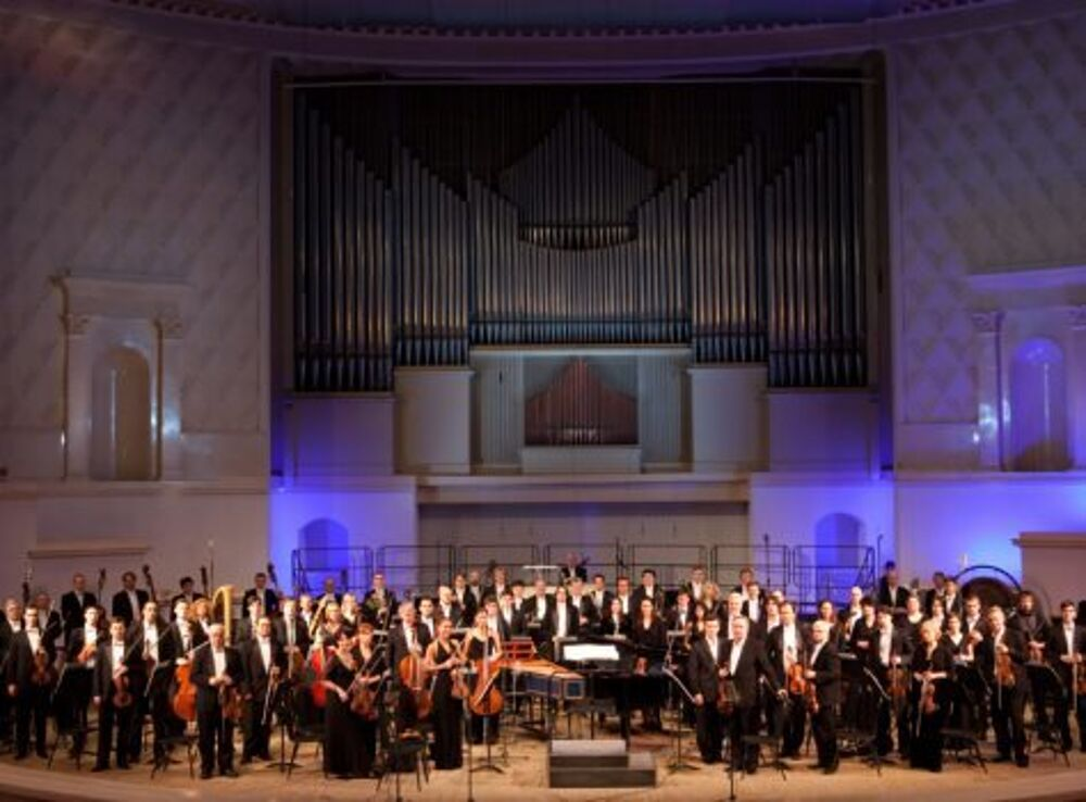 Российский национальный оркестр, дирижёр – М. Плетнёв, А. Баева