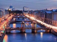 Романтический круиз под разводными мостами «Golden Sax»