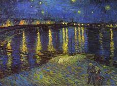 Картины великих. «Звёздная ночь» Ван Гога