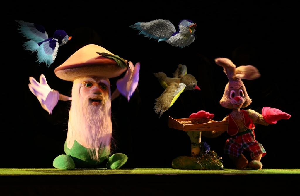 Зайка и его друзья детский спектакль