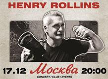 Henry Rollins 2018-12-17T20:00 цены онлайн
