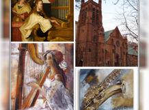 Романтический вечер с арфой, органом и саксофоном<br>