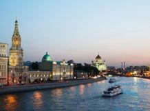 Экскурсия с гидом и песнями под гитару на теплоходе «Москва-150»<br>