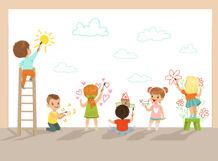 «Разноцветный зоопарк». Курсы рисования для детей 4-6 лет 2019-04-14T11:30 парка 6 14 лет
