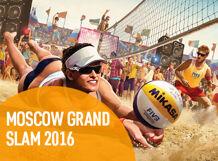 Московский этап мирового тура по пляжному волейболу Moscow Grand Slam 2016<br>