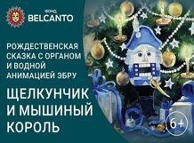 Рождественская сказка с органом и водной анимацией-эбру. «Щелкунчик и Мышиный король» 2020-01-07T12:00