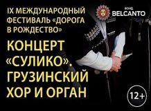 Концерт «Сулико». Грузинский хор и орган 2019-01-04T15:00 рождественские огоньки детский хор большого театра и большой орган kuhn