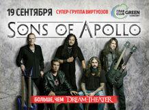 Sons Of Apollo 2018-09-19T20:00 обет 2018 09 19t20 00