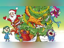 Новогодняя сказка Кота Баюна 2019-12-22T13:30 волшебная сказка 2019 12 22t13 30