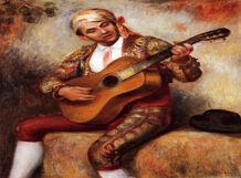 Испанская гитара в дуэте с органом<br>