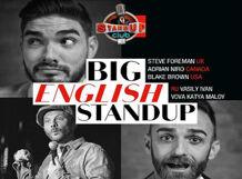 Big English Stand up<br>