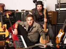 Heffron Drive. Big Time Rush vocalist Kendall Schmidt &amp; Dustin Belt<br>