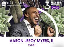 Город Джаз. Aaron LeRoy Myers II. Концерт в оранжерее 2019-11-03T20:00
