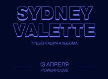 Sydney Valette: Презентация альбома 2019-04-13T19:30