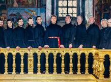 Хор Новоспасского монастыря. Великопостный концерт.<br>