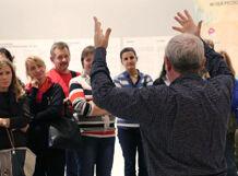 Экскурсия на жестовом языке по выставке «Давид Бурлюк. Слово мне!» 2018-12-20T19:30