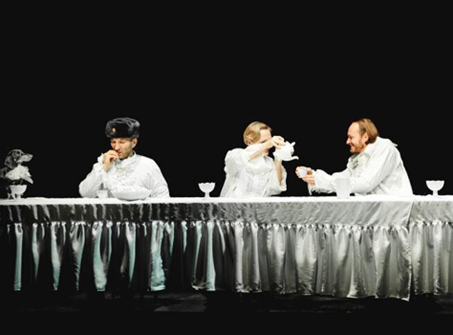 Ганди молчал по субботам в Москве, 18 октября 2020 г., Театр Школа Драматического Искусства