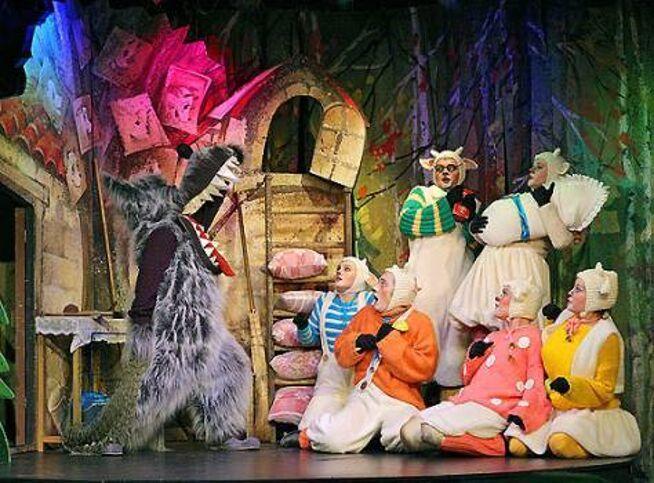 Волк и семеро козлят в Москве, 22 ноября 2020 г., Театр Под Руководством Г. Чихачёва