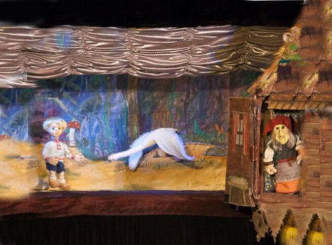 Гуси-лебеди в Москве, 18 октября 2020 г., Московский Детский Театр Марионеток