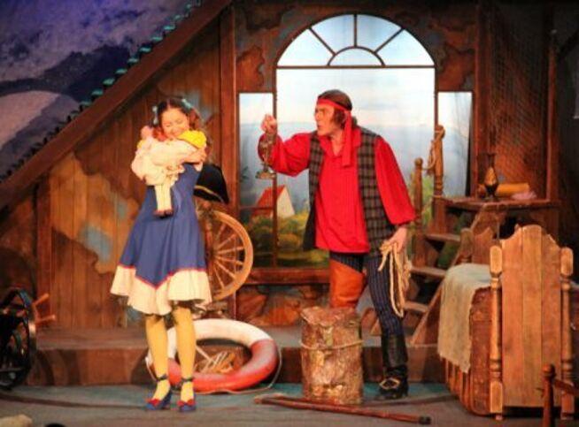 Пират и призраки в Москве, 13 декабря 2020 г., Театр Под Руководством Г. Чихачёва
