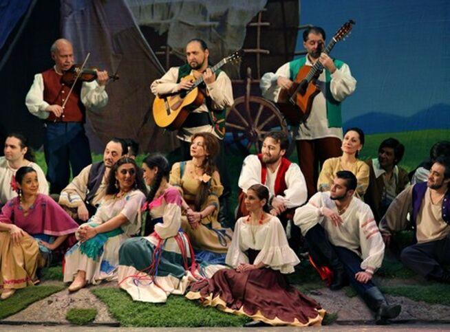 Цыганская невеста в Москве, 1 октября 2020 г., Театр «Ромэн»