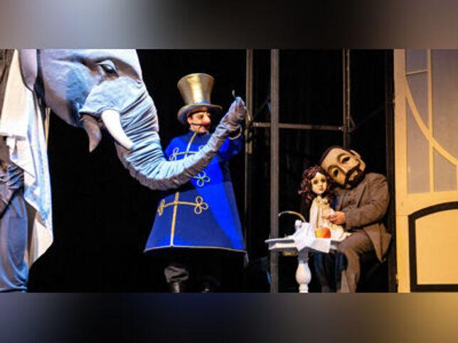 Слон в Москве, 17 октября 2020 г., Московский Театр Кукол