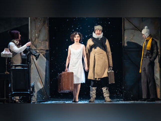 Обещание на рассвете в Москве, 27 сентября 2020 г., Театр Имени Пушкина