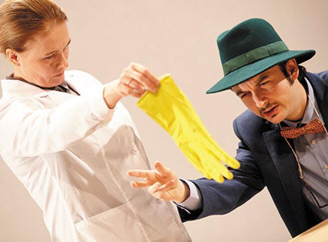 Человек, который принял жену за шляпу в Москве, 12 октября 2020 г., Театр Им. Вл. Маяковского (Сцена На Сретенке)