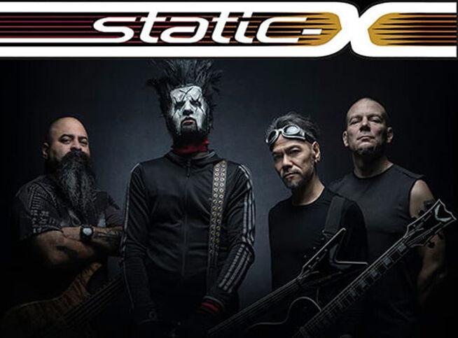 Концерт Static-X.Специальный гость: Dope в Москве, 23 ноября 2020 г., Главclub Green Concert