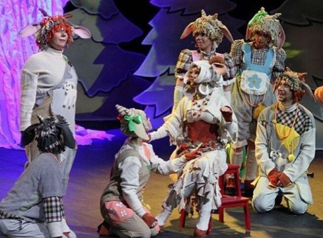 Волк и семеро козлят. Театр А. Рыбникова в Москве, 1 ноября 2020 г., Московский Международный Дом Музыки