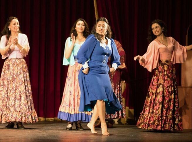 Поющие струны души в Москве, 9 октября 2020 г., Театр «Ромэн»