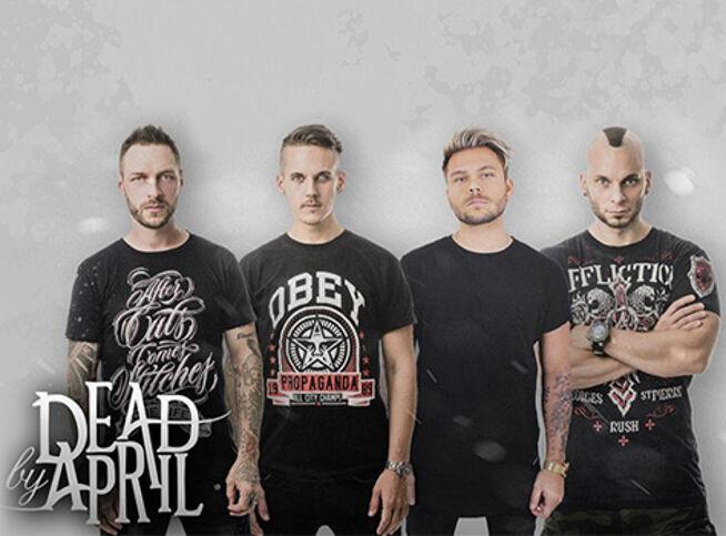 Концерт Dead by April | Smash Into Pieces в Екатеринбурге, 5 ноября 2020 г., Концерт-Холл «Свобода»