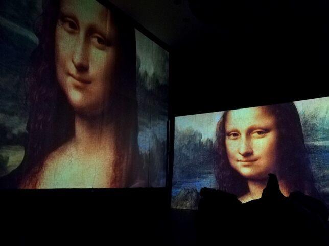 Леонардо да Винчи. История гения, изменившего мир в Москве, 1 февраля 2021 г., Multimedia Gallery Kvadrats
