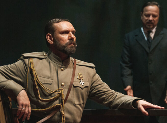 Красное колесо в Москве, 25 октября 2020 г., Театр Российской Армии