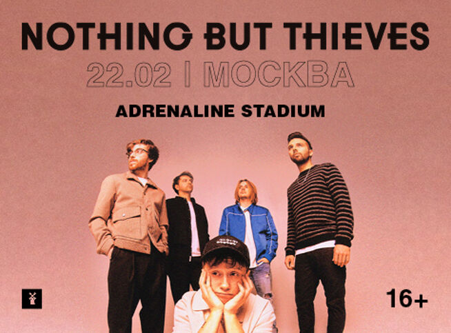 Концерт Nothing but Thieves в Москве, 22 февраля 2021 г., Adrenaline Stadium
