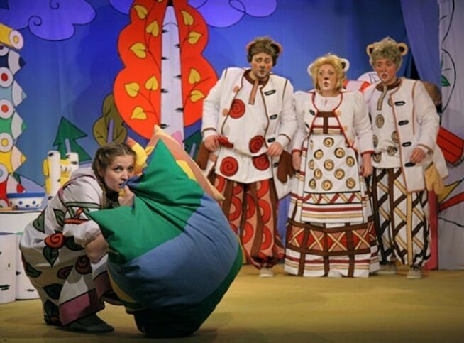 Три медведя в Москве, 24 января 2021 г., Театр Под Руководством Г. Чихачёва