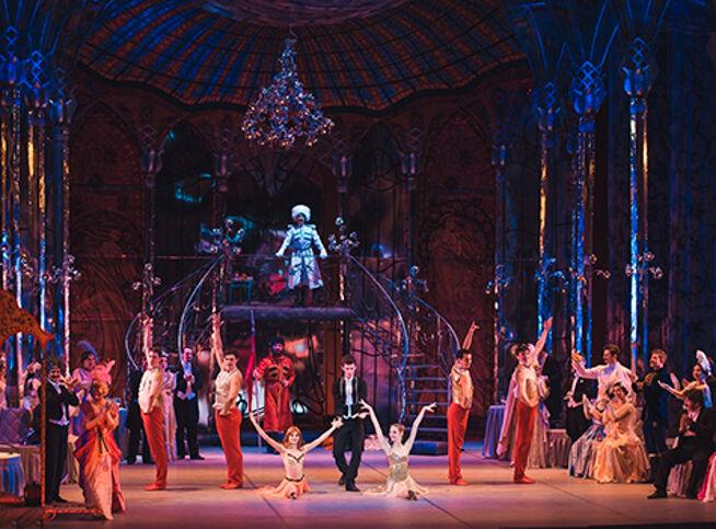 Летучая мышь в Москве, 31 декабря 2020 г., Театральный Центр На Страстном