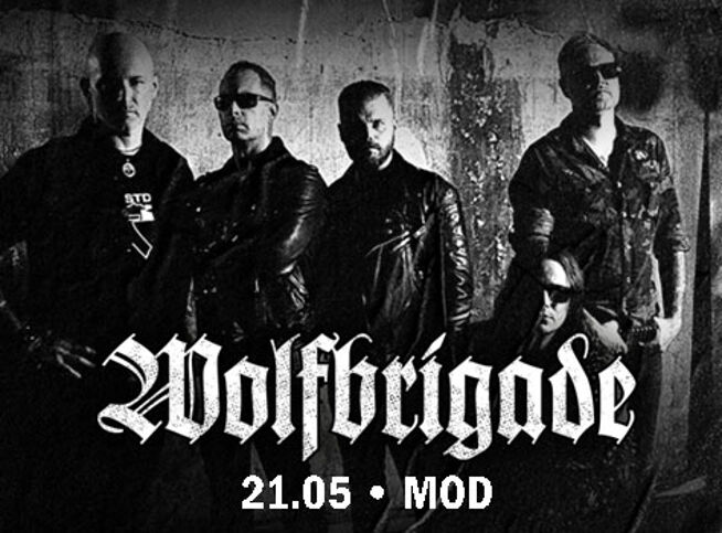 Концерт Wolfbrigade в Санкт-Петербурге, 21 мая 2021 г., Mod Club