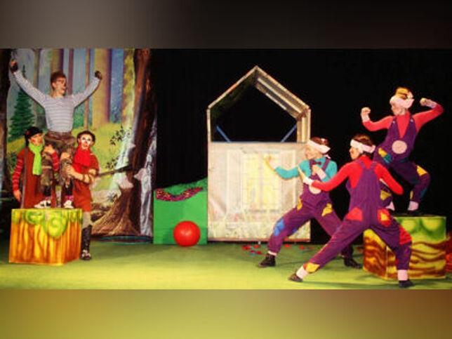 Три поросенка в Санкт-Петербурге, 8 ноября 2020 г., Театр Алеко