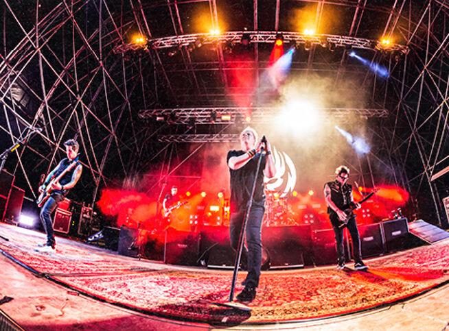 Концерт The Offspring. Park Live 2021 в Москве, 8 июля 2021 г., Лужники Парк