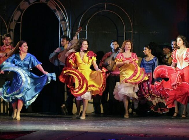 Графиня-цыганка в Москве, 14 октября 2020 г., Театр «Ромэн»