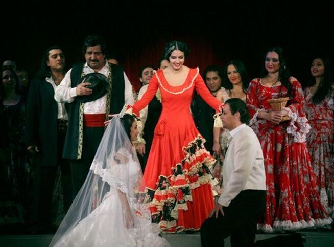 Колдовская любовь в Москве, 4 октября 2020 г., Театр «Ромэн»