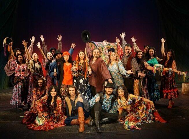 Подкова счастья в Москве, 16 октября 2020 г., Театр «Ромэн»