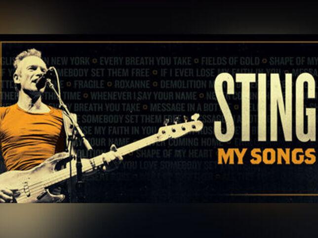 Live Nation/ Cherrytree Presents: STING. MY SONGS TOUR в Москве, 29 сентября 2020 г., Дворец Спорта Мегаспорт