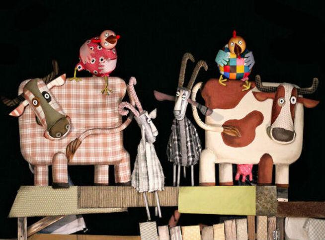 Гусёнок в Москве, 18 октября 2020 г., Московский Театр Кукол