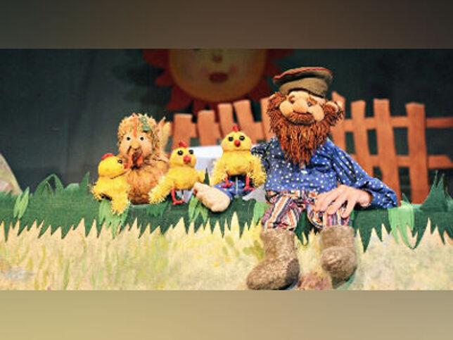 Курочка Ряба в Москве, 27 сентября 2020 г., Московский Театр Кукол
