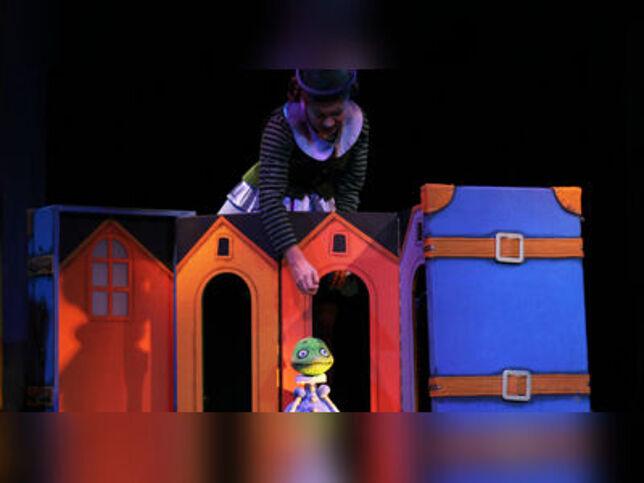 Сказка о капризной Принцессе и Короле лягушек в Санкт-Петербурге, 20 декабря 2020 г., Кукольный Театр Сказки