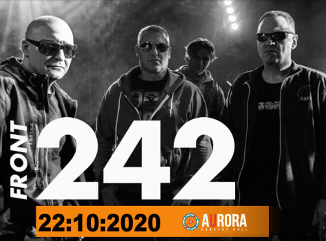 Концерт Front 242 в Санкт-Петербурге, 22 октября 2020 г., Aurora Concert Hall