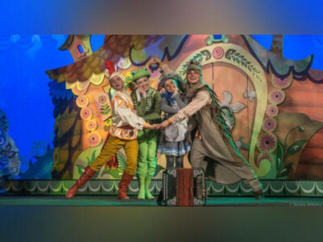 Теремок в Москве, 31 октября 2020 г., Московский Областной Театр Юного Зрителя Царицыно
